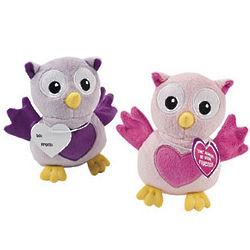 Plush Valentine Owls