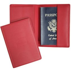Plain Napa Leather Passport Holder