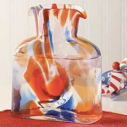 Americana Blenko Glass Pitcher