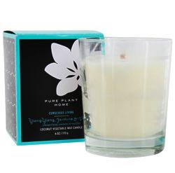 Jasmine & Vanilla Vegetable Wax Candle
