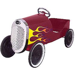 1934 Hot Rod Red Kid's Pedal Car