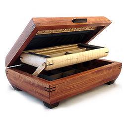 Handmade Natural Wood Jewelry Box