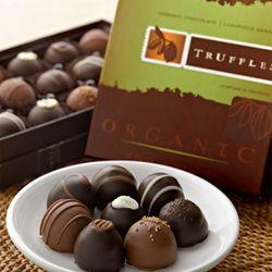 Organic Chocolate Truffles Box