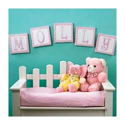 Baby Birth Canvas Letter