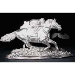Race Horse and Jockey Business Card Holder