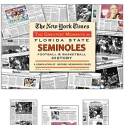 Greatest Moments in FL State Seminoles Football & Basketball Book