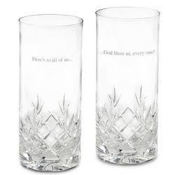 Cut Crystal High Ball Glass Set