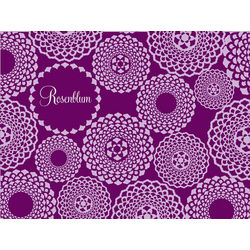 Personalized Doily Pattern Cutting Board