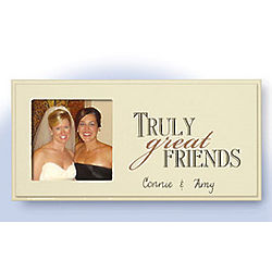 Personalized Friends Wooden Plaque