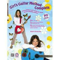 Alfred Girls Guitar Compete Book, DVD & T-Shirt