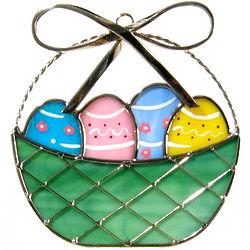 Easter Basket Suncatcher