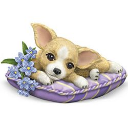 Alzheimer's Support Chihuahua Figurine