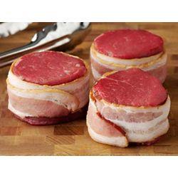 4 Bacon Wrapped Tenderloin Filets
