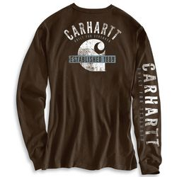 Men's Carhartt Strength Back Long-Sleeve T-Shirt