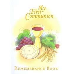 My First Communion Remembrance Book