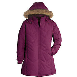 Chevron Quilted Coat