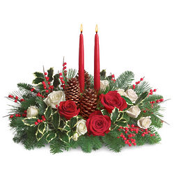 Christmas Wishes Floral Centerpiece