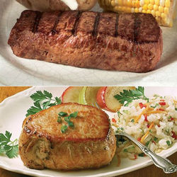 Ranchers Special Pork Chops & Filet of Sirloin Steaks Gift Box