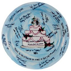 Personalized Wedding Platter