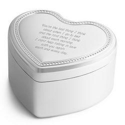 What a Wonderful World Heart Music Box