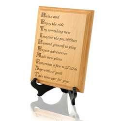 Enjoy Retirement Wooden Plaque
