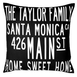 Custom Family Home Pillow