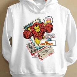 Kids Personalized Marvel Comics Sweatshirts