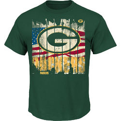 Green Bay Packers Stars and Stripes T-Shirt
