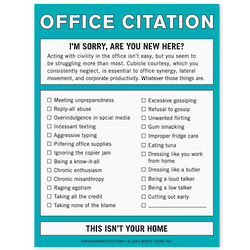 Office Citation Nifty Note