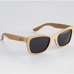 Natural Panda Wood Monroe Sunglasses