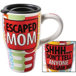 Escaped Mom Travel Mug