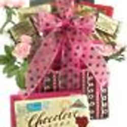 Love Letters Romantic Chocolate Gift Basket