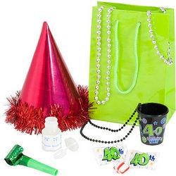 40th Birthday Girl Swag Bag