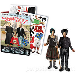 American Gothic Magnetic Dress-Up Set