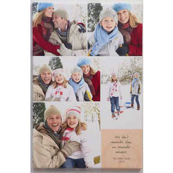 Our Memories Custom Photo Montage Canvas Print