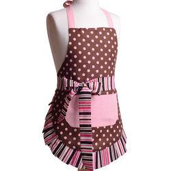 Girl's Original Pink Chocolate Apron