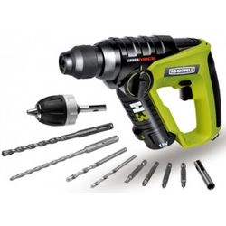 12-Volt Cordless Lithium Tech 3-in-1 Rotary Hammer Drill Kit
