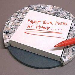 Granite Post-It Note Holder