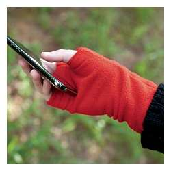 Fingerless Polyfleece Gloves
