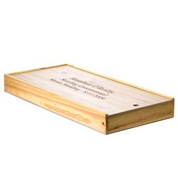 Personalized BBQ Gift Set with Pine Box