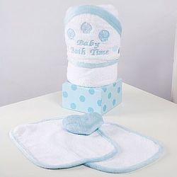 Baby Boy Bath Towel Gift Set