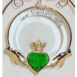 Personalized Claddagh Ornament