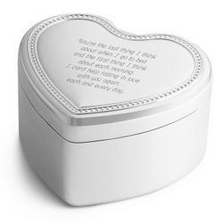 This Guy's in Love with You Heart Music Box