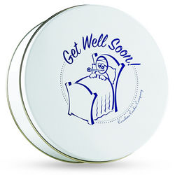 Get Well Soon Gourmet Cookies Gift Tin