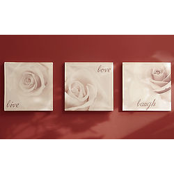 Love, Laugh Wall Art Live