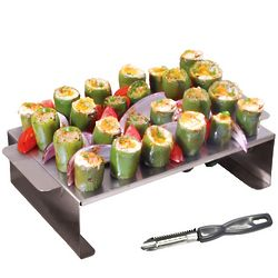 Large Jalapeno Poppers Pepper Roaster Plus Corer