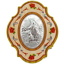 Sterling Silver Guardian Angel Trinket Box
