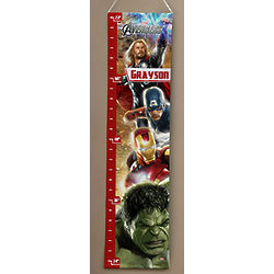 The Avengers Personalized Kid's Growth Chart