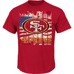 San Francisco 49ers Stars and Stripes T-Shirt