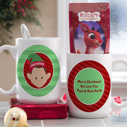 Christmas Character Large Personalized Mug